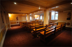 Chapel at Connells Funeral Home Longford