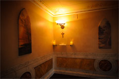 Discreet Chapel Lighting at Connells Funeral Home Longford